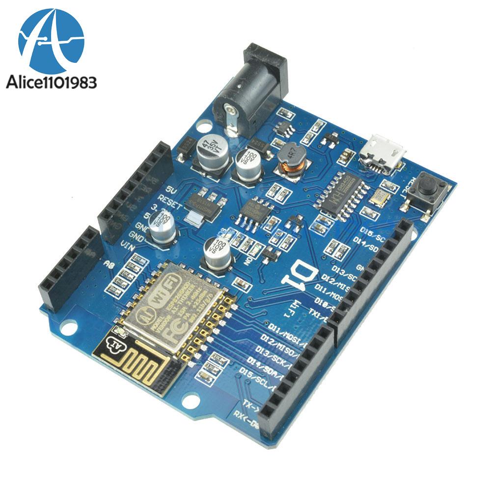 Details about OTA WeMos D1 CH340 WiFi Development Board ESP8266 ESP-12E For  Arduino IDE UNO R3