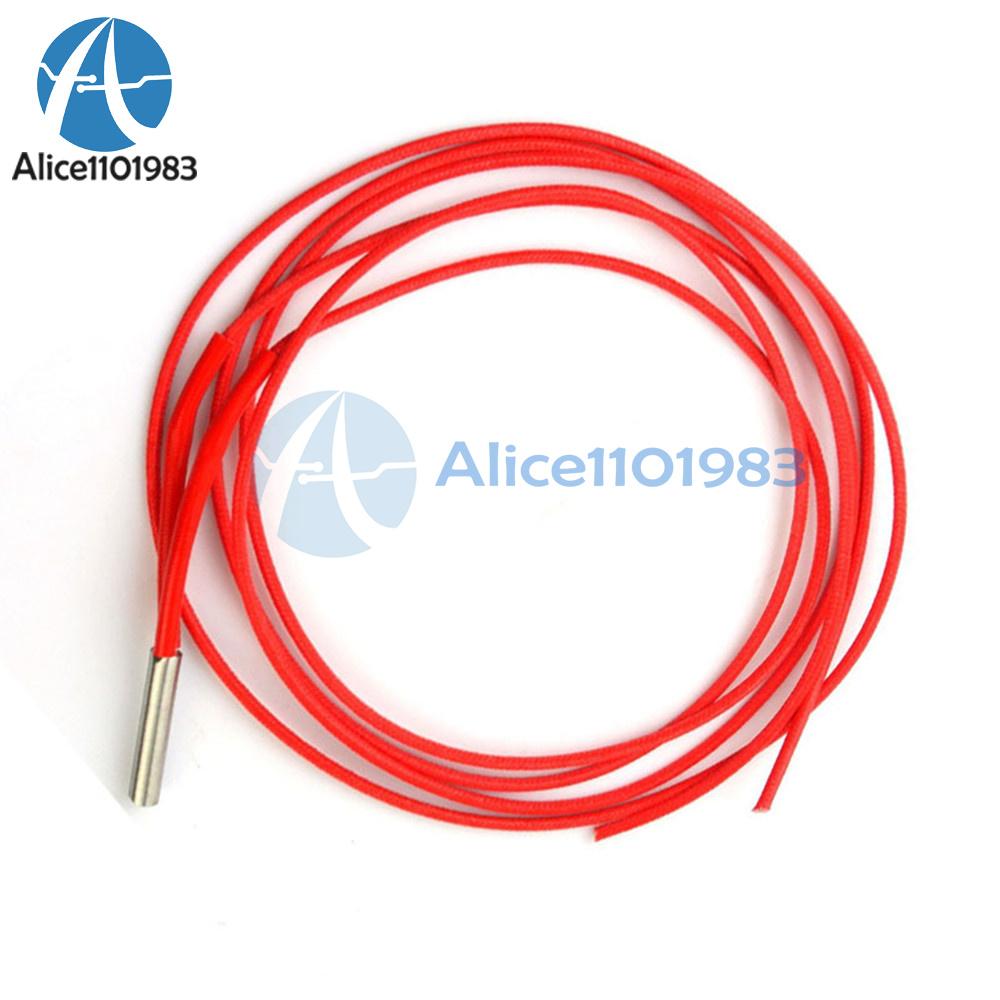 10x 12V 40W Ceramic Cartridge Wire Heater Hotend For Arduino 3D Printer Prusa US