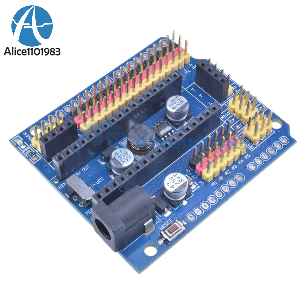 Arduino nano expansion board micro sensor shield v i o