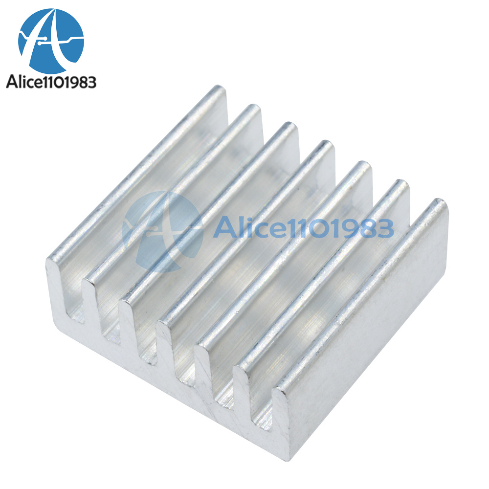 100Pcs Aluminum 8.8X8.8X5MM Heat Sink For Stepstick A4988 Chip Led Power Ic N cu