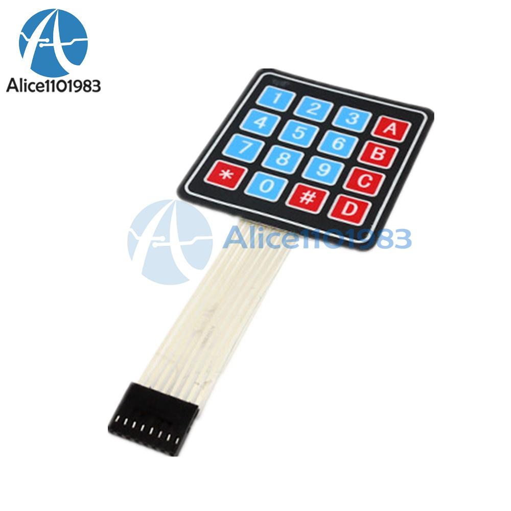 10pcs 4 x 4 Matrix Array 16 Key Membrane Switch Keypad Keyboard Arduino