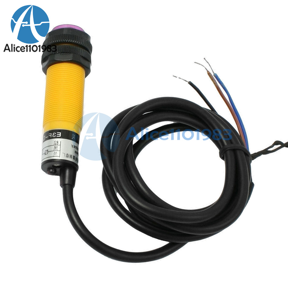C 6-36V E3F-DS30C4 Optoelectronic Sensor Photo switch NPN NO 1.2M Cable D