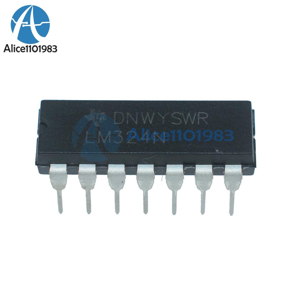 10pcs 324 LM324 LM324N DIP-14 Low Power Quad Op-Amp ic