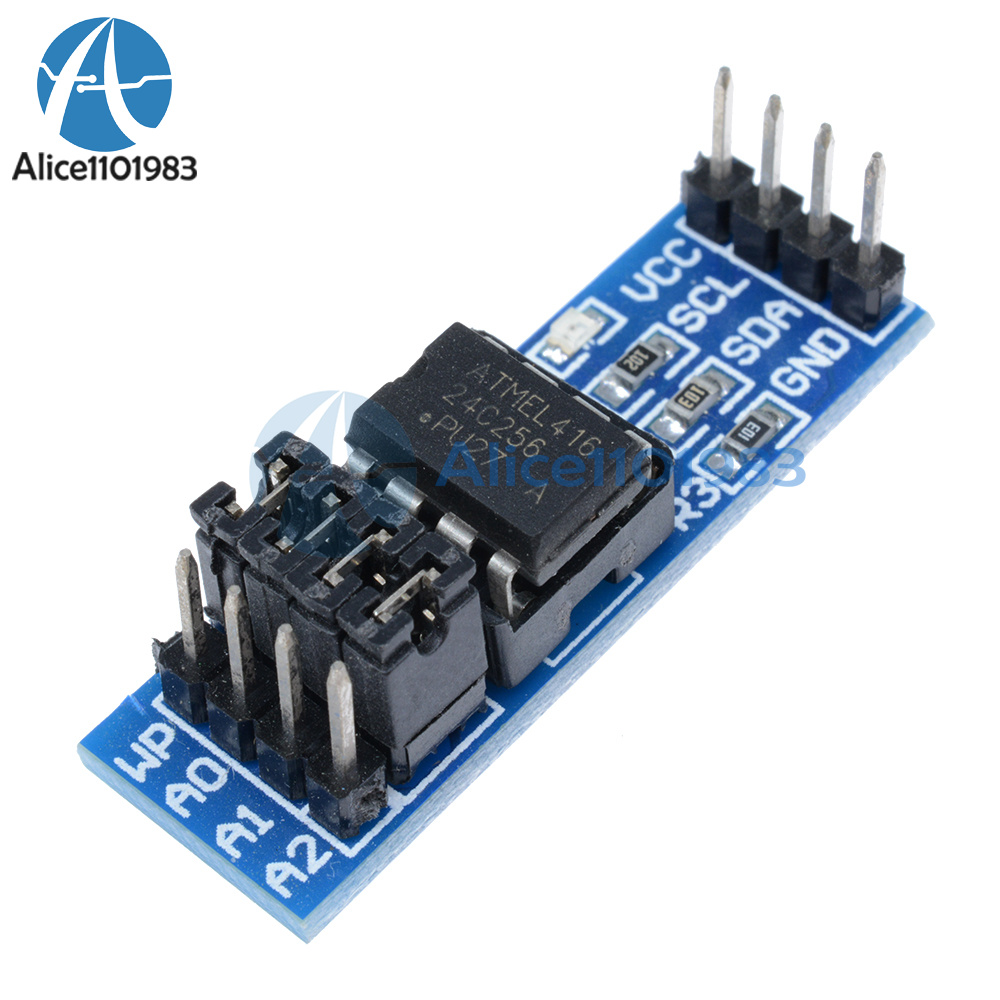 Details about AT24C256 Serial EEPROM I2C Interface EEPROM Data Storage  Module for Arduino PIC