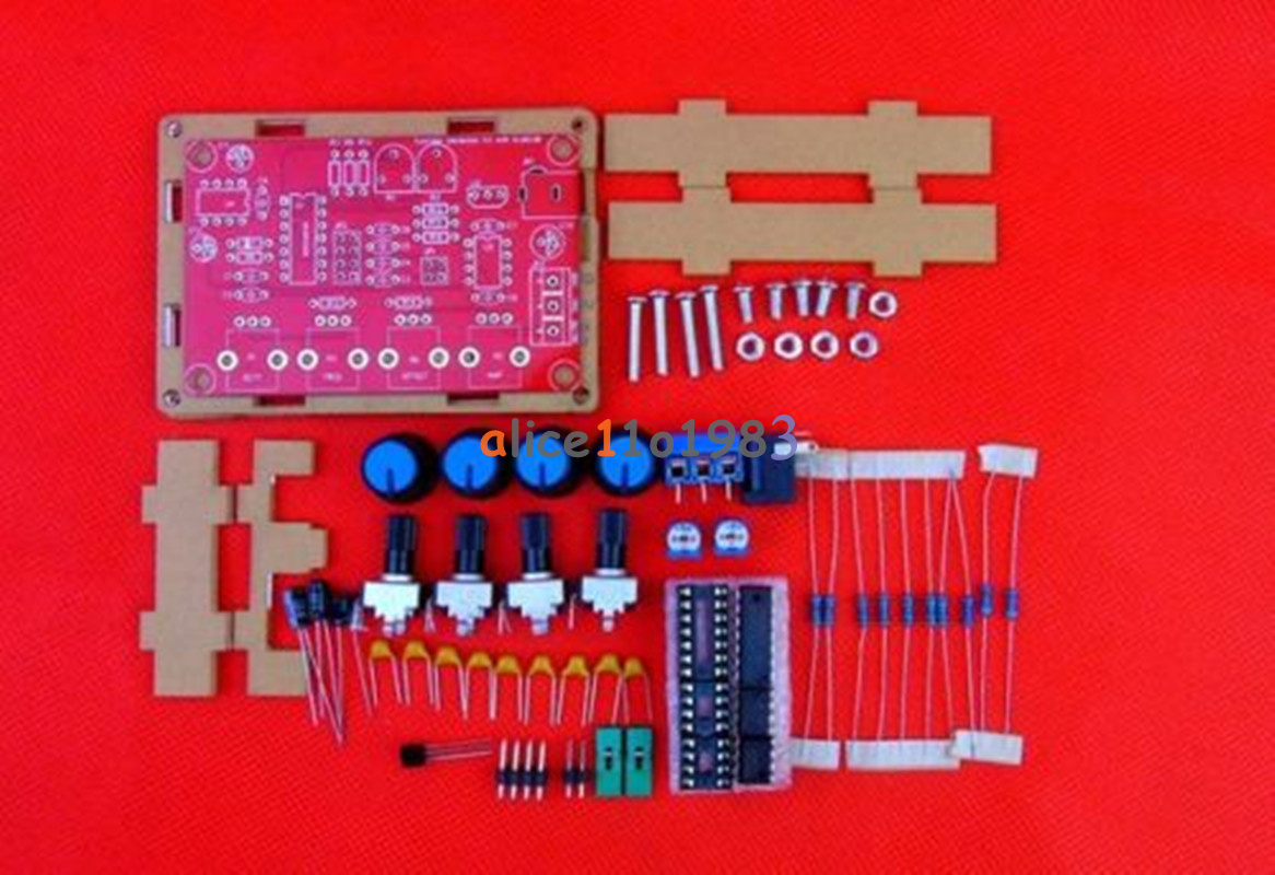 Diy Dc 12v Icl8038 5hz400khz Function Signal Generator Sine Component Circuit The Composed Triangle Sawtooth