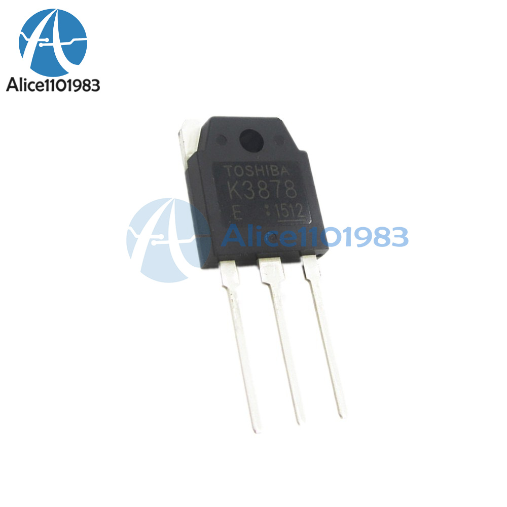 5PCS 2SK3878 K3878 TOS MOSFET N-Ch FET RDS TO-3P new