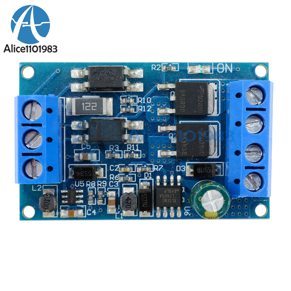 High Power Mos Fet Trigger Drive Switch Module Pwm Adjust Control Dc Touch Using 4v 60v