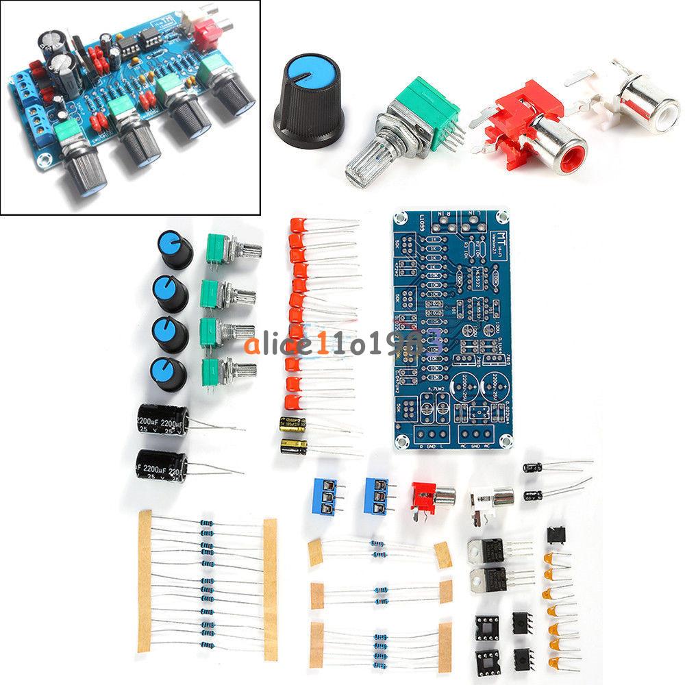 NE5532 HIFI OP-AMP Amplifier Volume Tone EQ Control Board ...