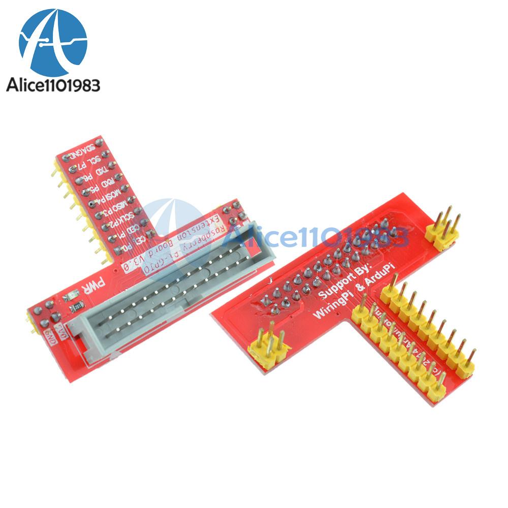 26 Pin Extension Flat Ribbon Cable Wire Raspberry Pi Gpio Serial Close Wiringpi Board