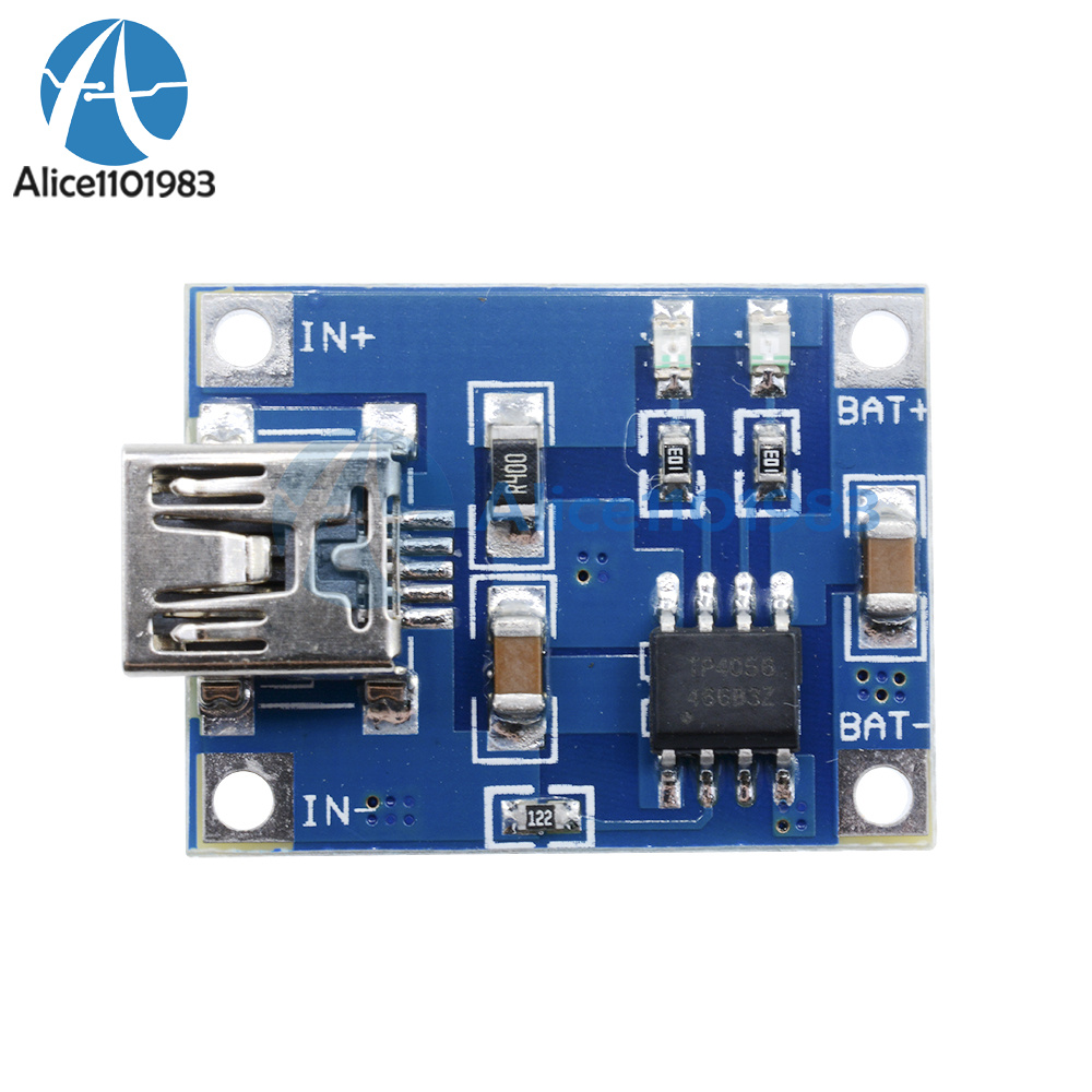 2pcs DC 4.5-5.5V 1A Lithium Battery Charging Board Li-on Charger Module