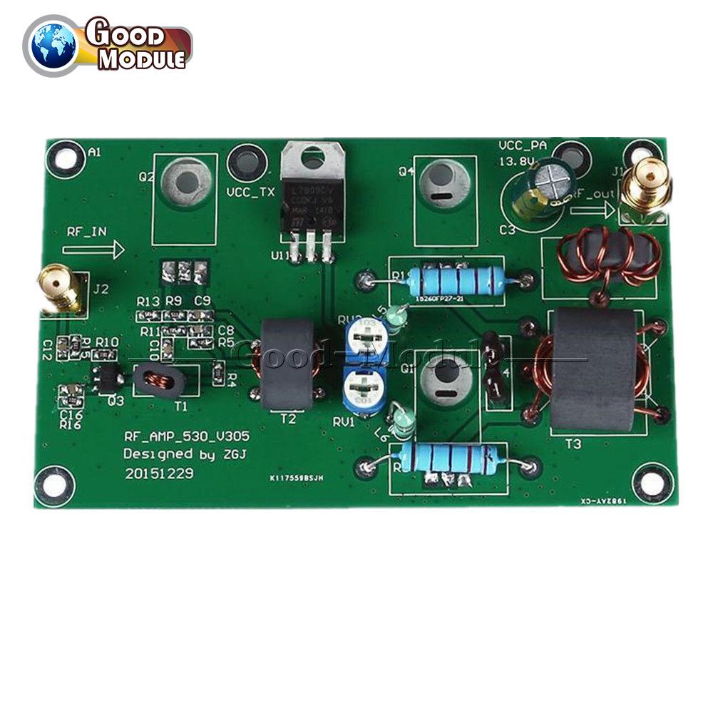 45w Ssb Linear Power Amplifier Cw Fm Hf Radio Transceiver Shortwave Low Cost Am Diy Kit Gm