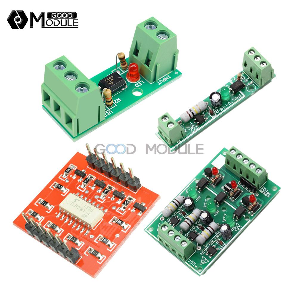 1//3//4 Channel 12//220V 1-Bit TLP281 PLC Optocoupler isolation Module Detect Board