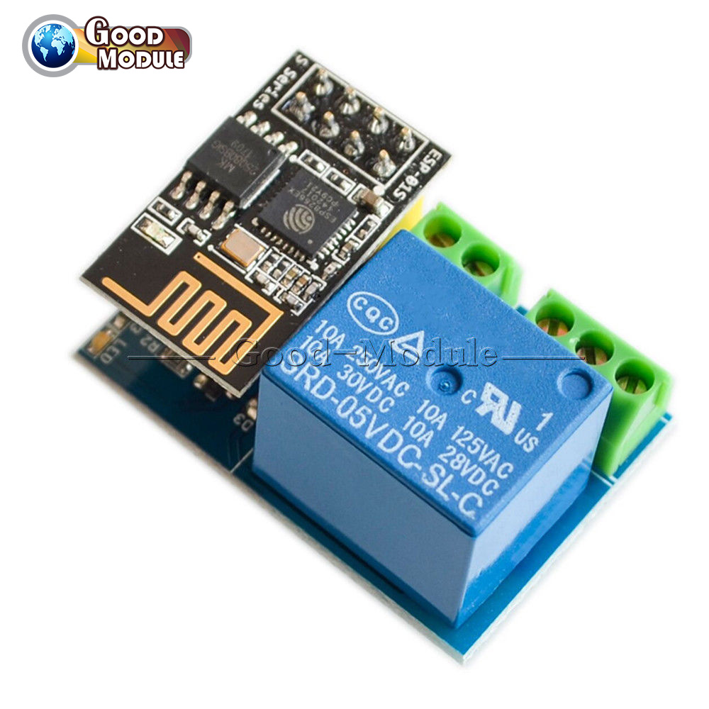 ESP8266 5V Wifi Relay Module ESP-01S TOI APP Controled For Smart Home