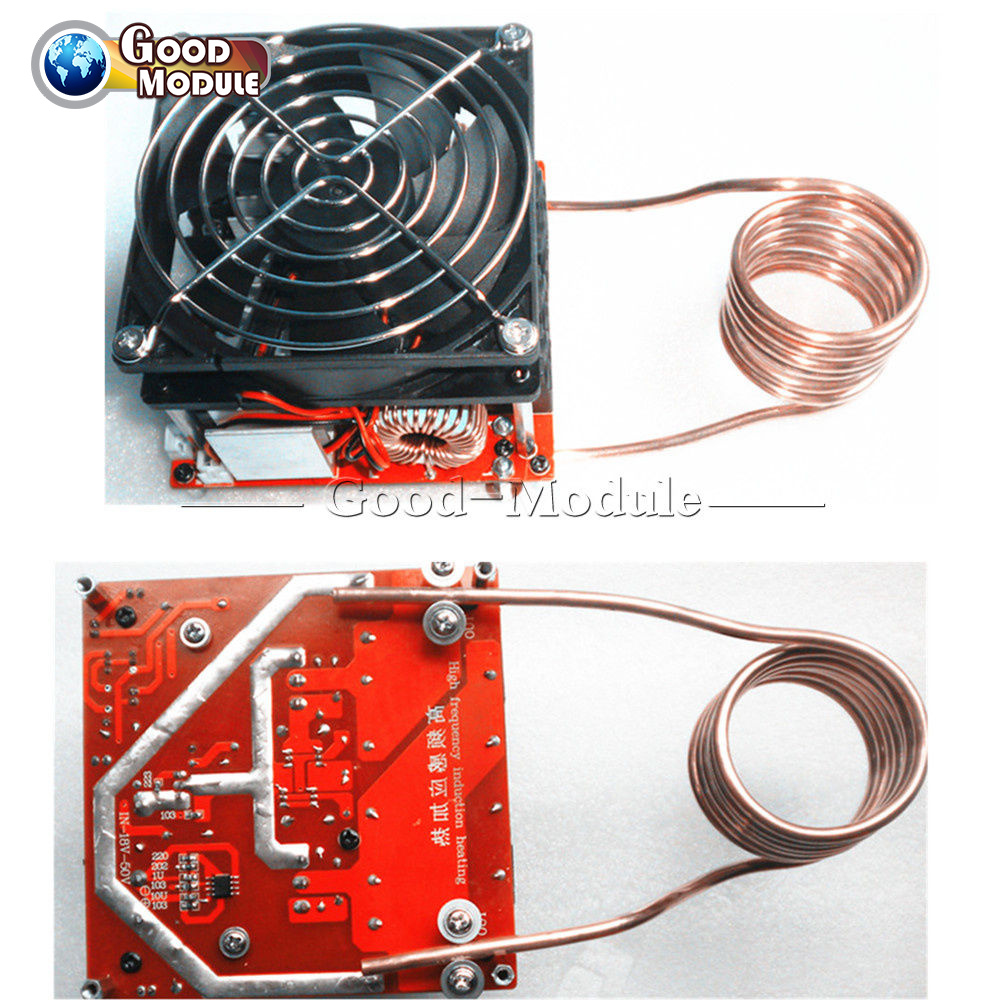 Zvs 20a Induction Heating Board Flyback Driver Heater Diy Cooker Transformer Tesla Coil On Schematic Diagram Ignition