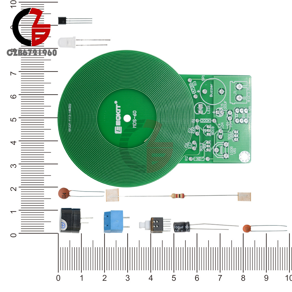 Electronic Kit Metal Detector Dc 3v 5v 60mm Non Contact Sensor Pics Photos Build Your Own Projects Circuits Diy