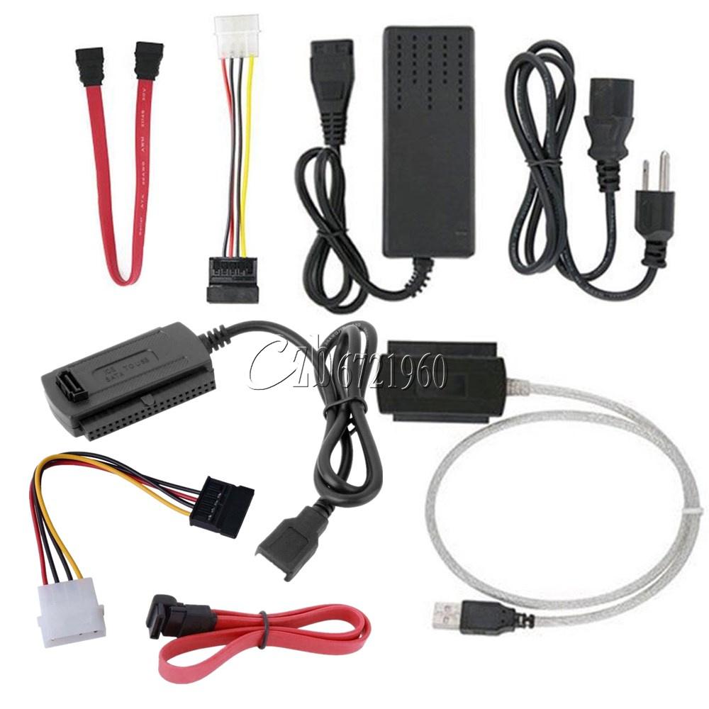 For 2.5/3.5 Hard Drive SATA/PATA/IDE Drive to USB 2.0 Adapter ...