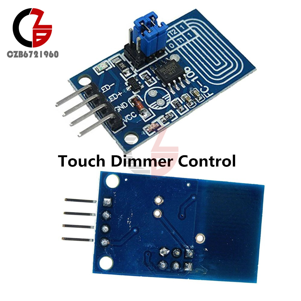 Capacitive Touch Dimmer Pwm Control Panel Switch Constant Circuit For Bulbs 5v Led Light Voltage Module