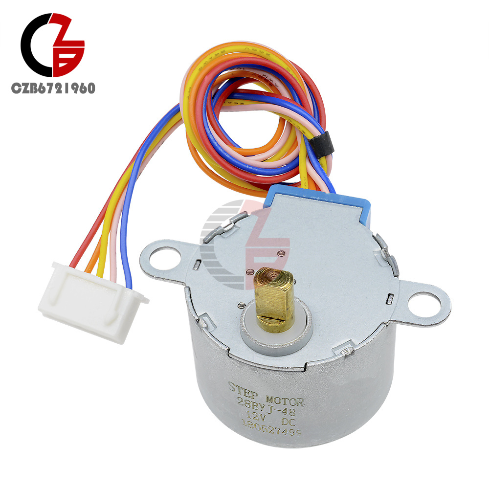 12V 4-phase 5-wire stepper motor gear motor module 28BYJ-48-12V ...