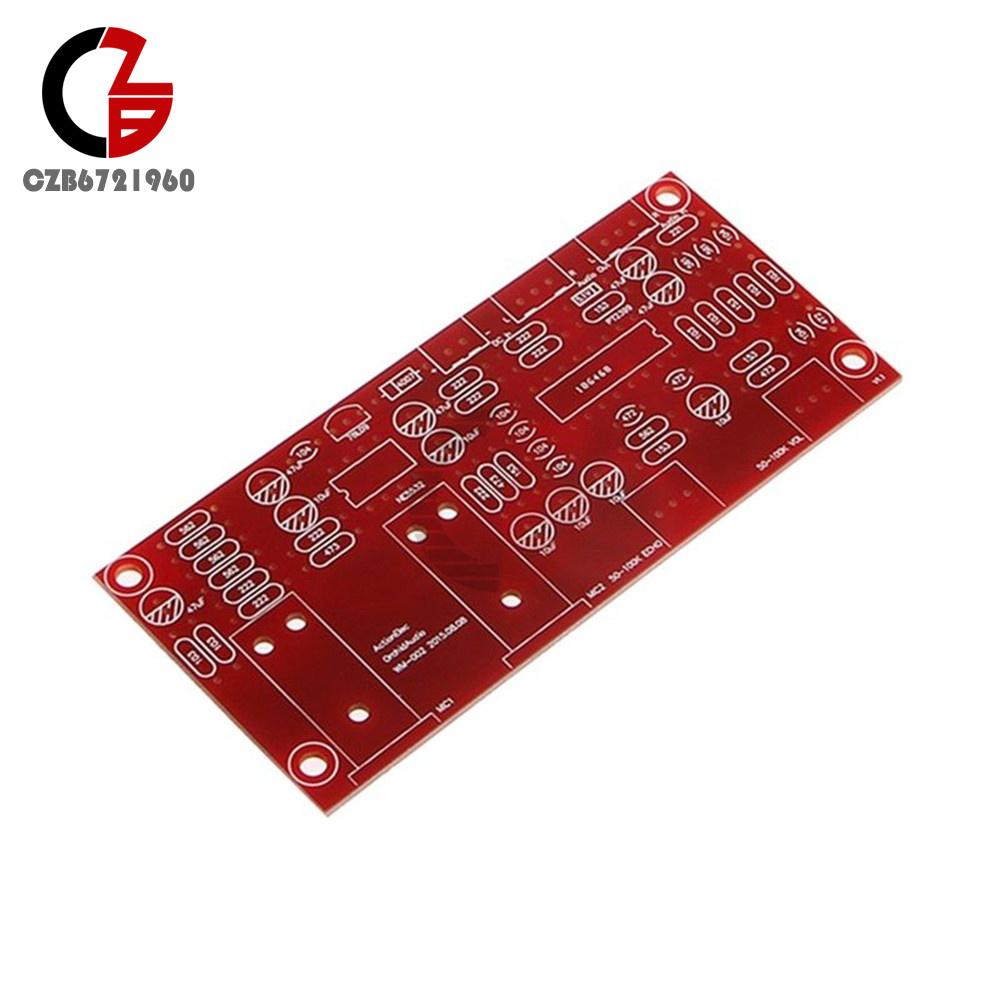 Pt2399 Ne5532 Digital Microphone Amplifier Board Karaoke Preamplifier Circuit Diagrams Plate Reverb Reverberator Suite Components Power Supply Voltage Dc 12v 24v