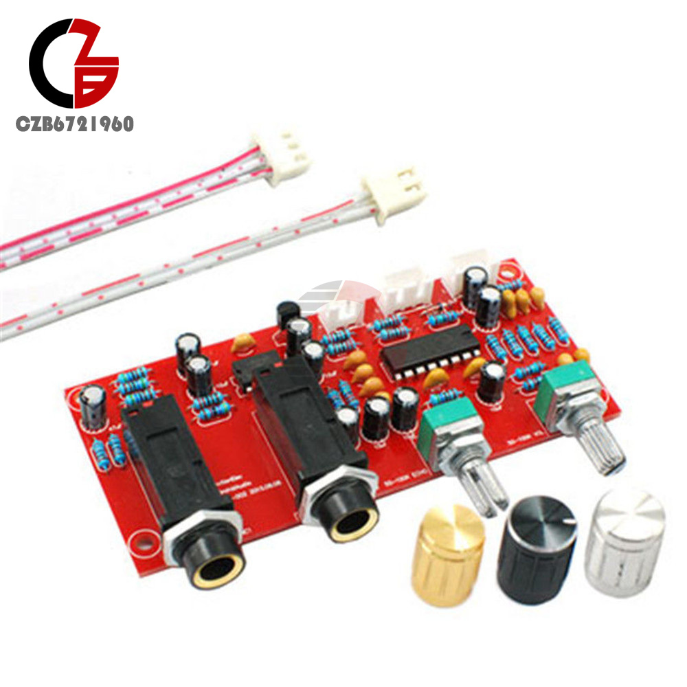 Pt2399 Ne5532 Digital Microphone Amplifier Board Karaoke Preamplifier Circuit Diagrams Reverberator Diy Kit
