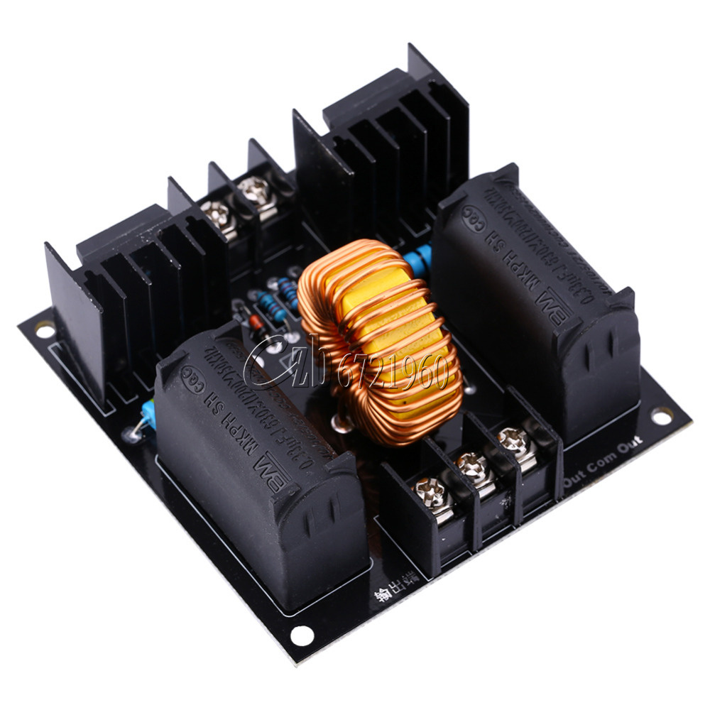 10a 1000w Zvs Tesla Coil Flyback Driver Board Volt Switch