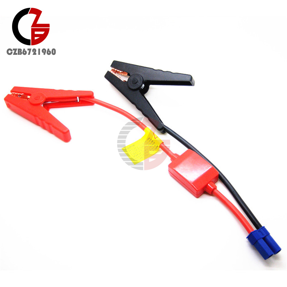 Connector Booster Jumper Cable Alligator Clamp Battery 12v 24v Car Short Circuit Protection Jump Starter Truck Plug Ec5 Male Plastic Shell Blue Fits 5mm Banana Clip Proof 90 Mm Prevent Reverse Charge Module 30v Rated 200a Max 500a