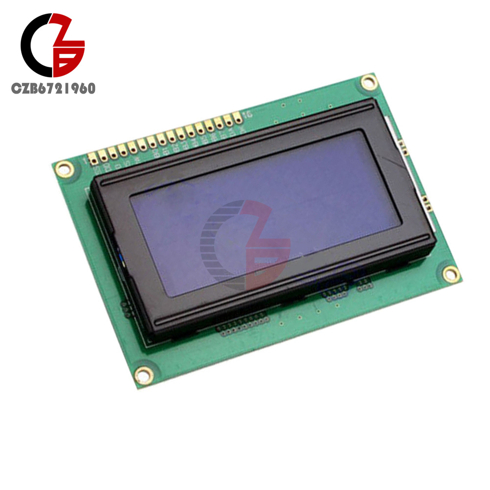 Details about LCD 16x4 1604 Character LCD Display Module LCM Blue  Blacklight 5V Arduino