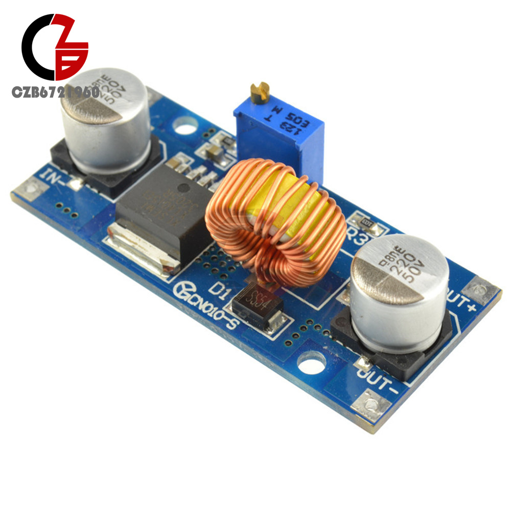 5a Xl4015 Dc Step Down Adjustable Power Supply Module Led Lithium High Current The Based On Lm2596 Advocate To 30a But Only 18ahowever Being Introduced Adds A Heatsink Using Devices