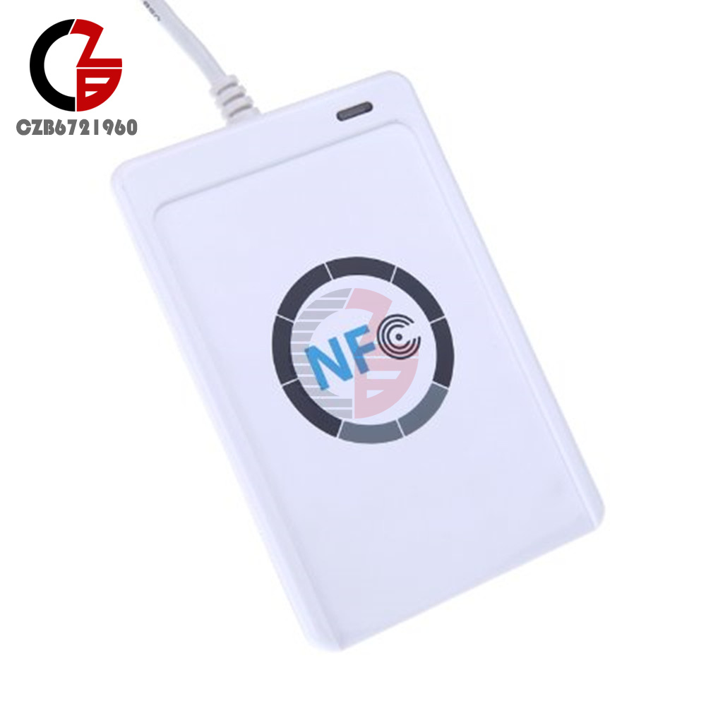 Details about ACR122U-A9 NFC Card Reader Writer USB 13 56Mhz RFID Copier  Duplicator for iPhone