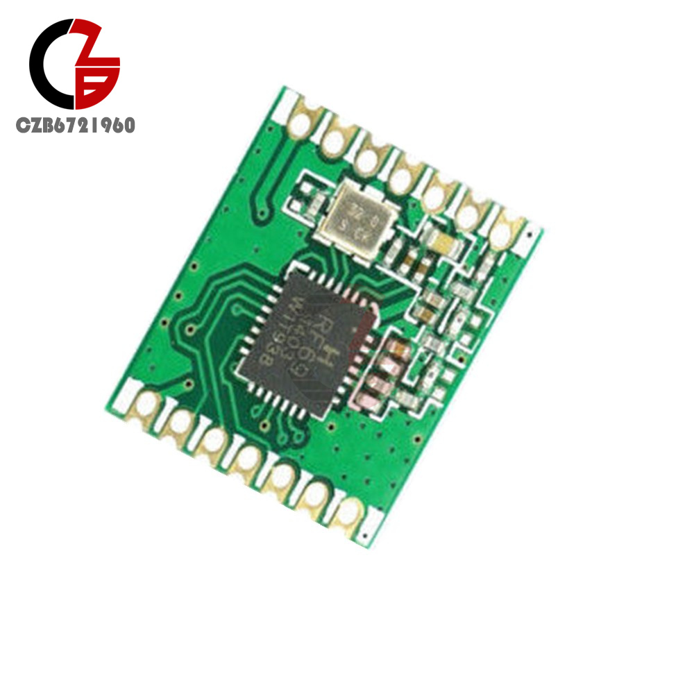 Details about RFM69CW 433Mhz RF Wireless Transceiver Module with RFM12B  Compatible Footprint