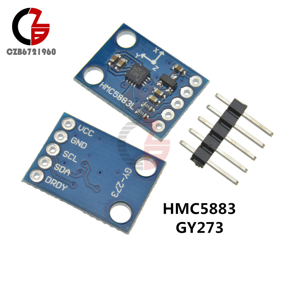 Iic 3 5v Original Hmc5883l Gy 273 Axis Compass Magnetometer Sensor Home Diy Magnetic Field Meter Circuit Item Name Module Three Model Chips Communication Protocol