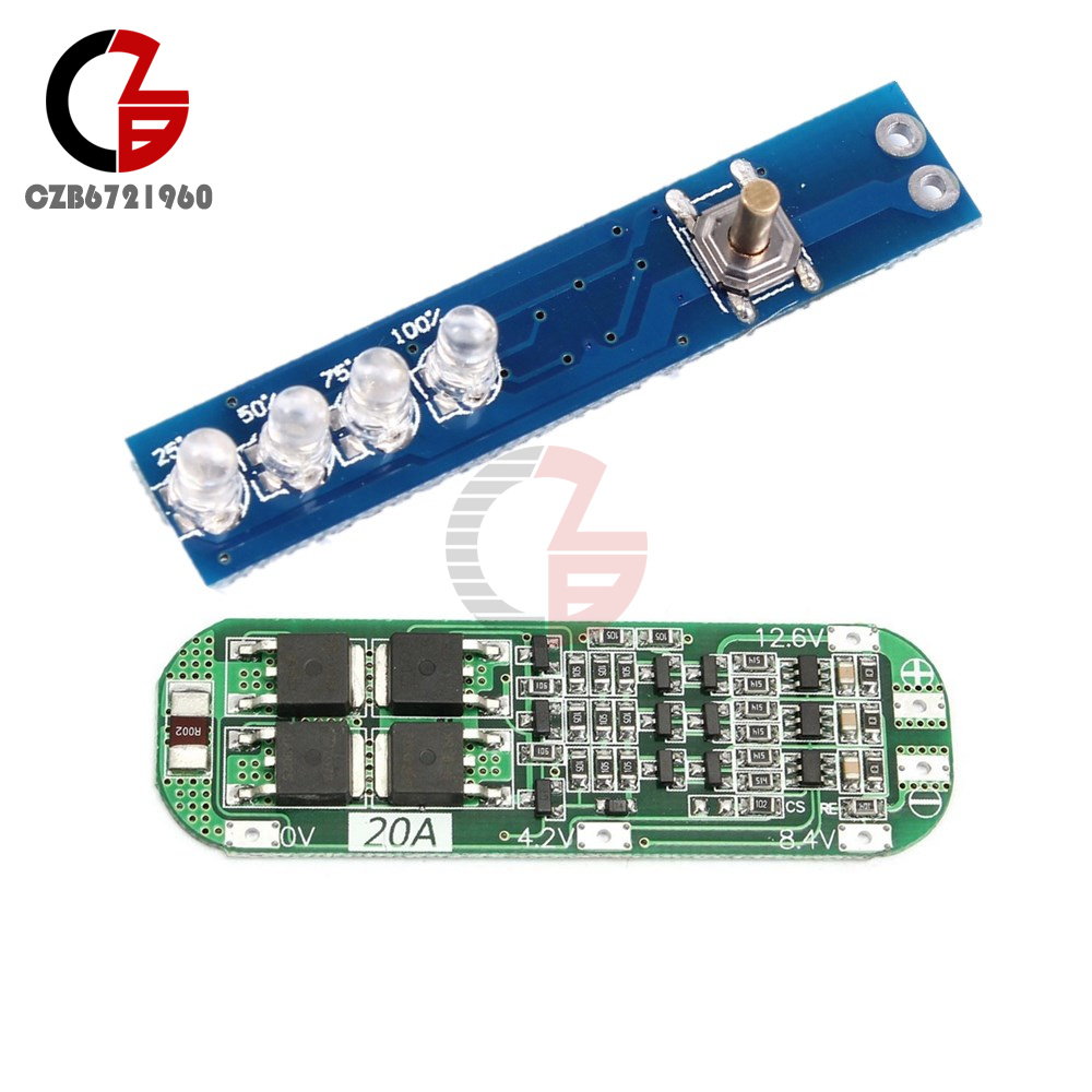 3s 20a 126v Li Ion Lithium Battery 18650 Charger Pcb Bms Protection Orion Wiring Diagram Board Cell