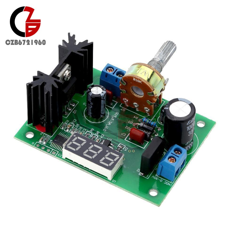 lm317 adjustable voltage regulator step down power supply module rh ebay com LM317 Voltage Regulator Instructables LM317 Voltage Regulator Schematic