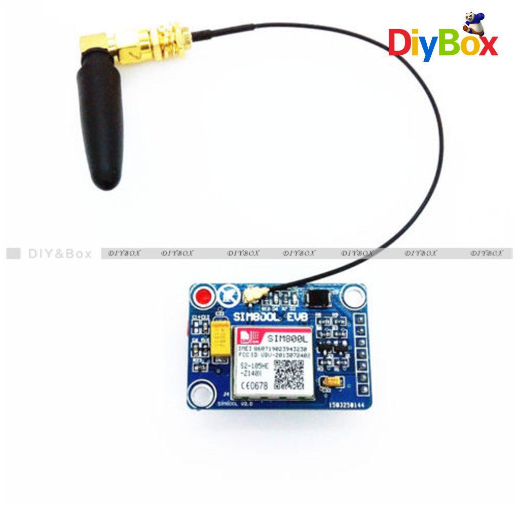 Details about SIM800L V2 05V Wireless GSM GPRS module Quad-Band Antenna Cap  M105 MCU Arduino