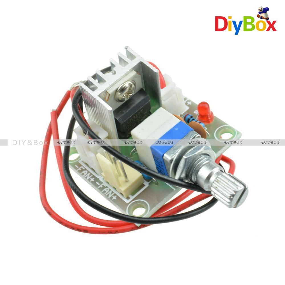 Lm317 dc linear converter down voltage regulator board for Lm317 motor speed control