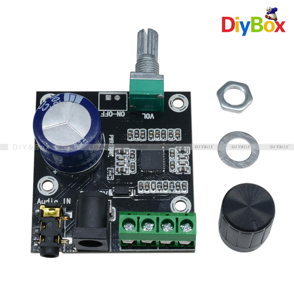 12v Pam8610 Audio Amplifier Board 15w Dual Channel Class D Details About Mini Hifi Stereo Circuit Digital Module