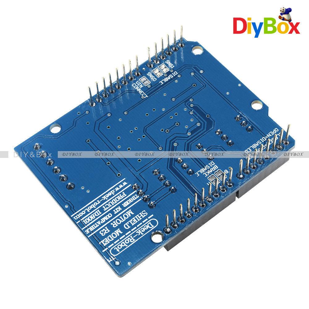 L298p Shield R3 Dc Motor Driver Module 2a H Bridge 2 Way Uno 2560 How To Build An Hbridge Circuit For Arduino D