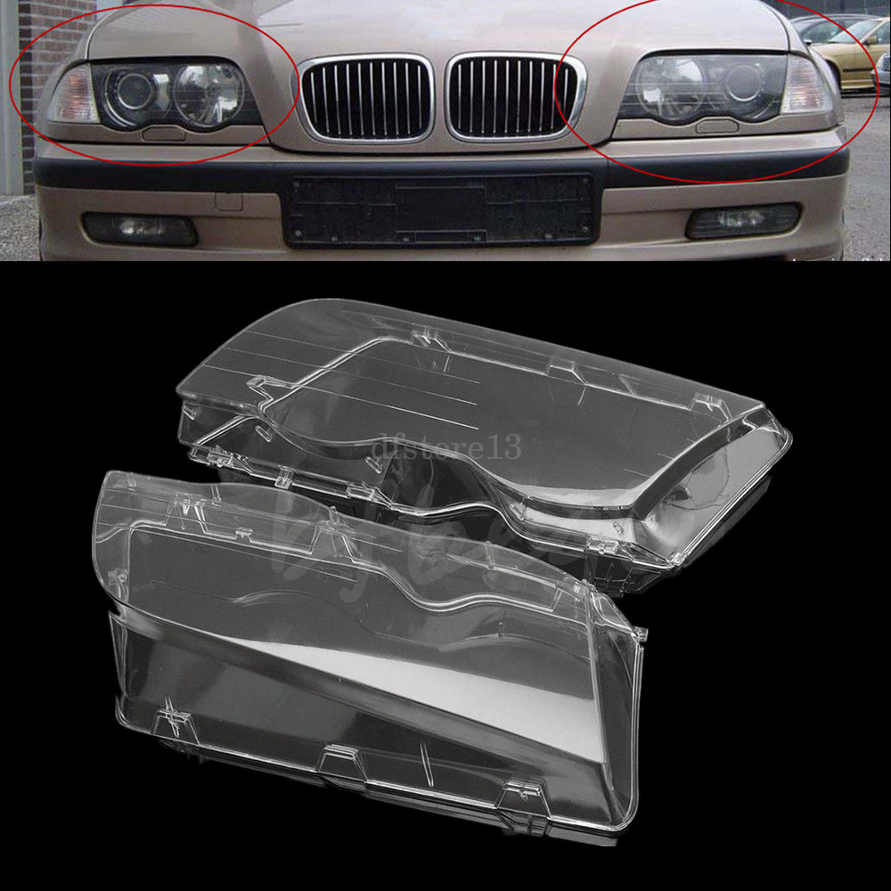 lichtscheibe scheinwerfer scheinwerferglas f r bmw 3 series e 46 sedan 2001 2005 ebay. Black Bedroom Furniture Sets. Home Design Ideas