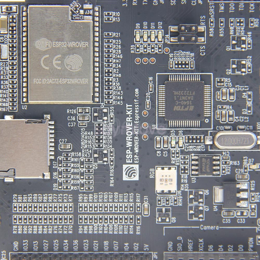 Details about New ESP32-WROVER-KIT Board for Espressif ESP32 with 3 2