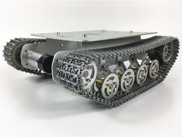 Robot Tank Chassis Metal Independent Suspension System Tracked f// Arduino DIY US