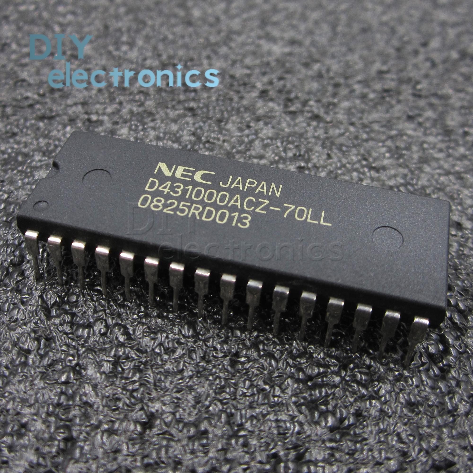1PCS//5PCS D431000ACZ-70LL D431000 431000ACZ-70LL DIP-32 1M-BIT CMOS STATIC RAM