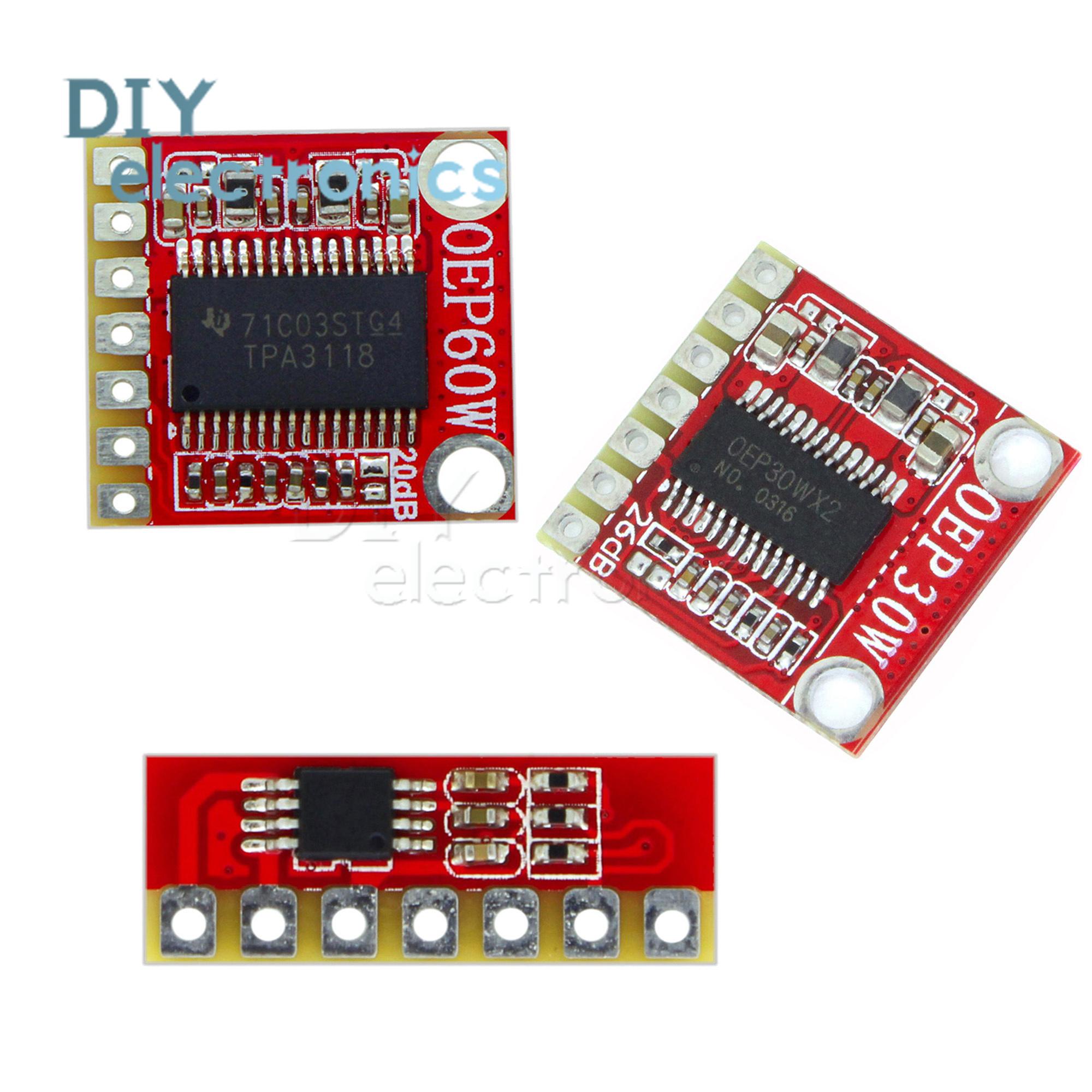 D Class Mono Oep3w 30w 60w Digital Power Amplifier Board Module Ic 23w Dual Audio Circuit Item Description