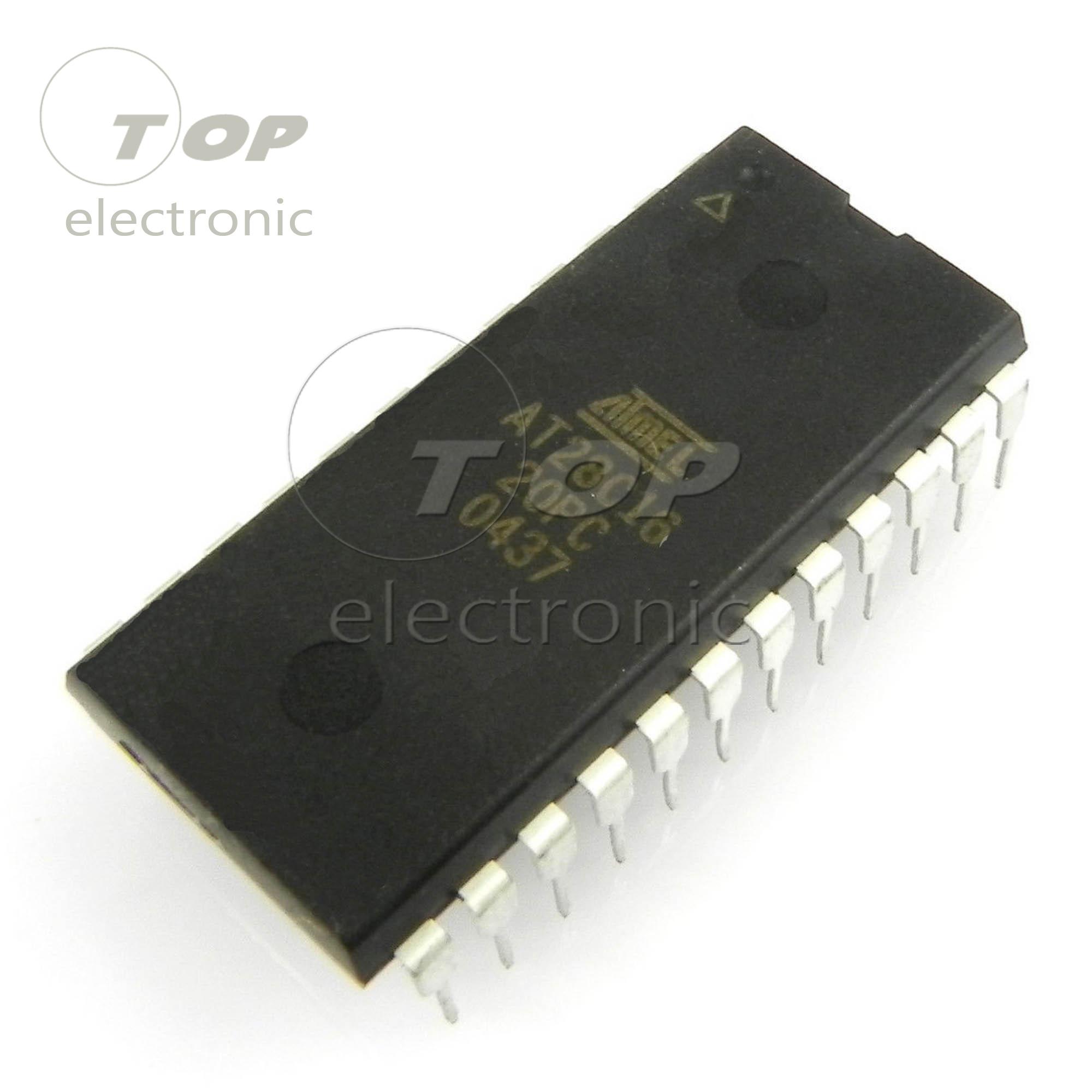 10Pcs AT28C16-15PU CMOS E2PROM DIP-24 ATMEL