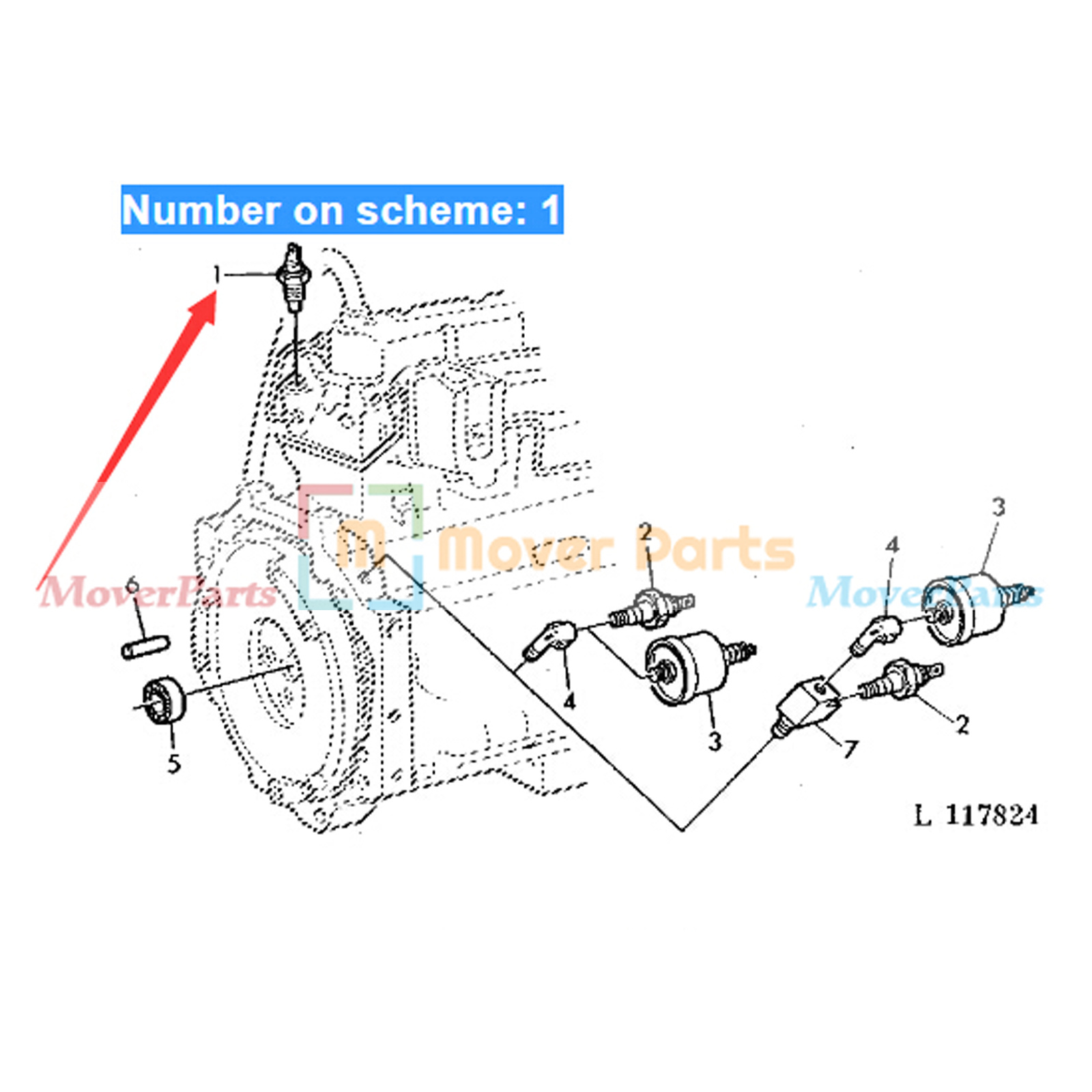 4tne84 Water Temperature Sensor Re51774 For John Deere Tractor 2955. Typewater Temperature Sensor. John Deere. 2355 John Deere Electrical Diagram At Scoala.co