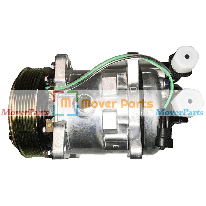 A  C Compressor 7279628 7280493 For Bobcat A770 T750 T770 T870 L750 S770 S850 632365356548