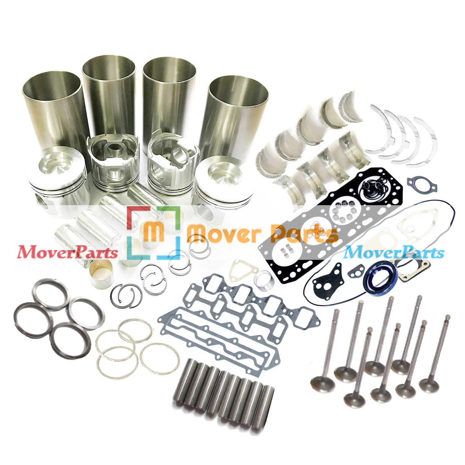 Details about 4TNV88 4D88-6 4D88E Overhaul Rebuild Kit for Yanmar Komatsu  Engine Parts