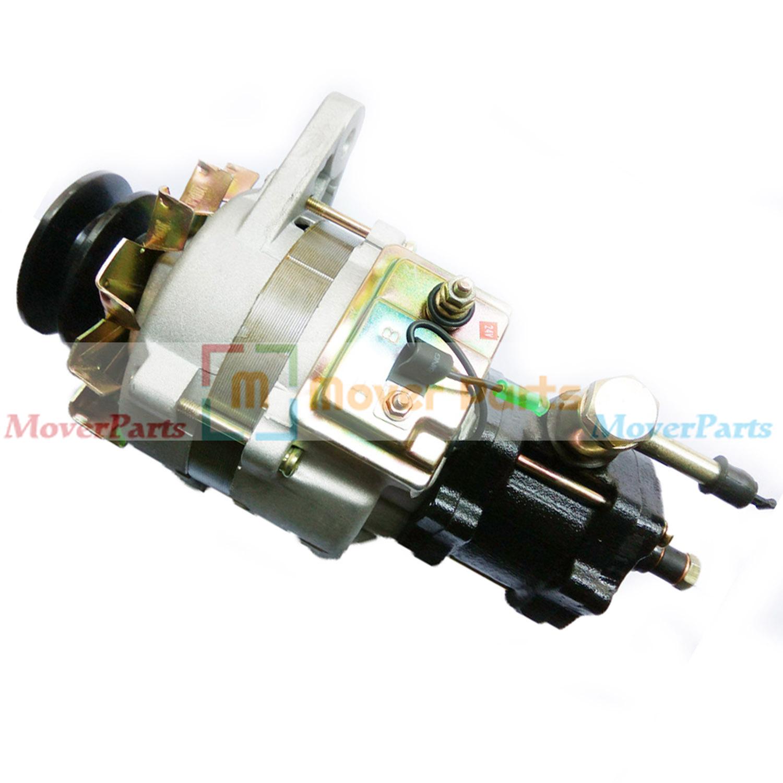 Alternator With Pump 1-81200314-0 for Hitachi UH07-7 UH08-3 Isuzu 6BD1  24V 55A