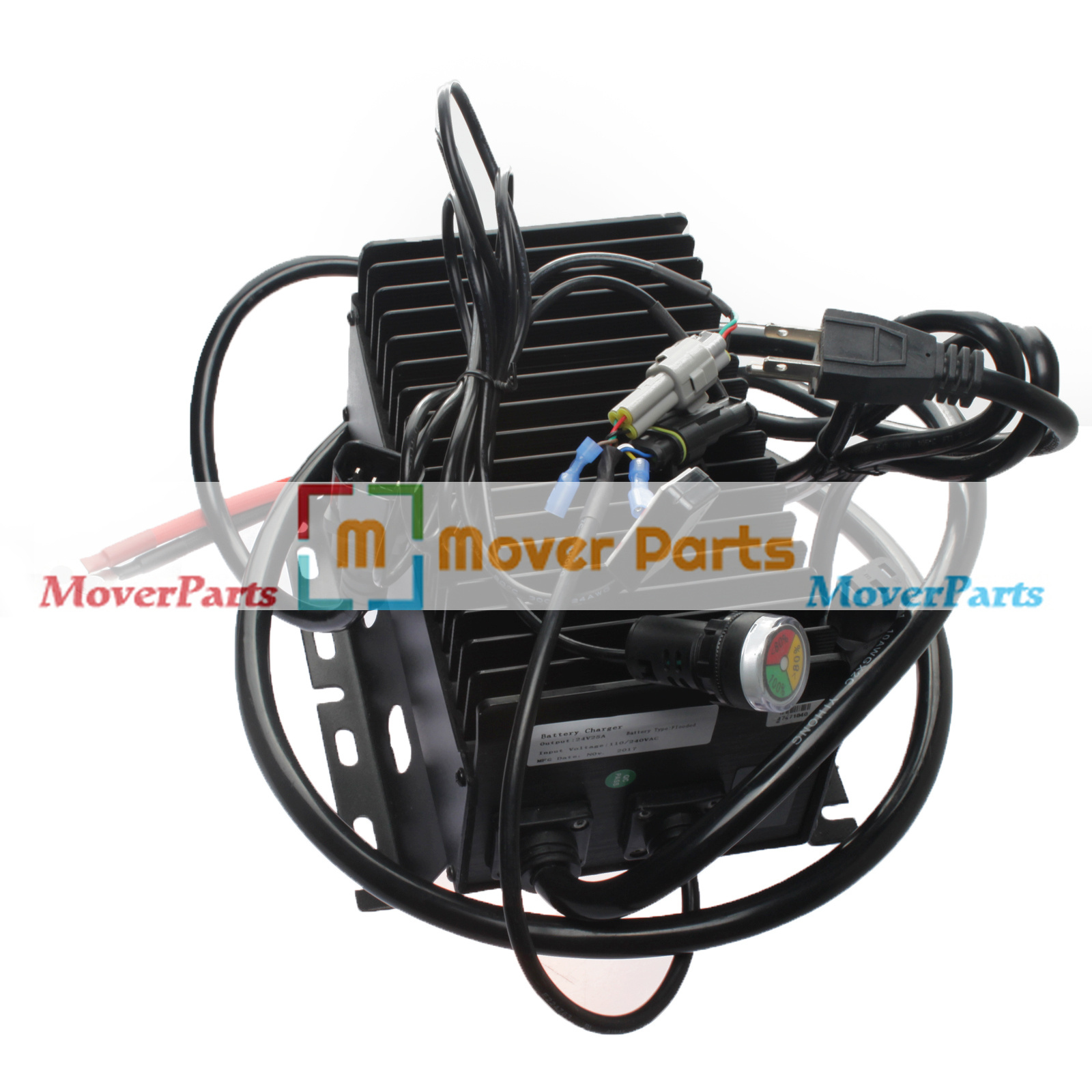 24v 25a battery charger 503097-000 for upright scissor lift 1 year warranty