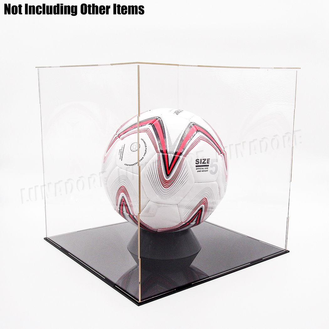 Football Soccer Rugby Ball Support Stand Small Basketball Display Holder