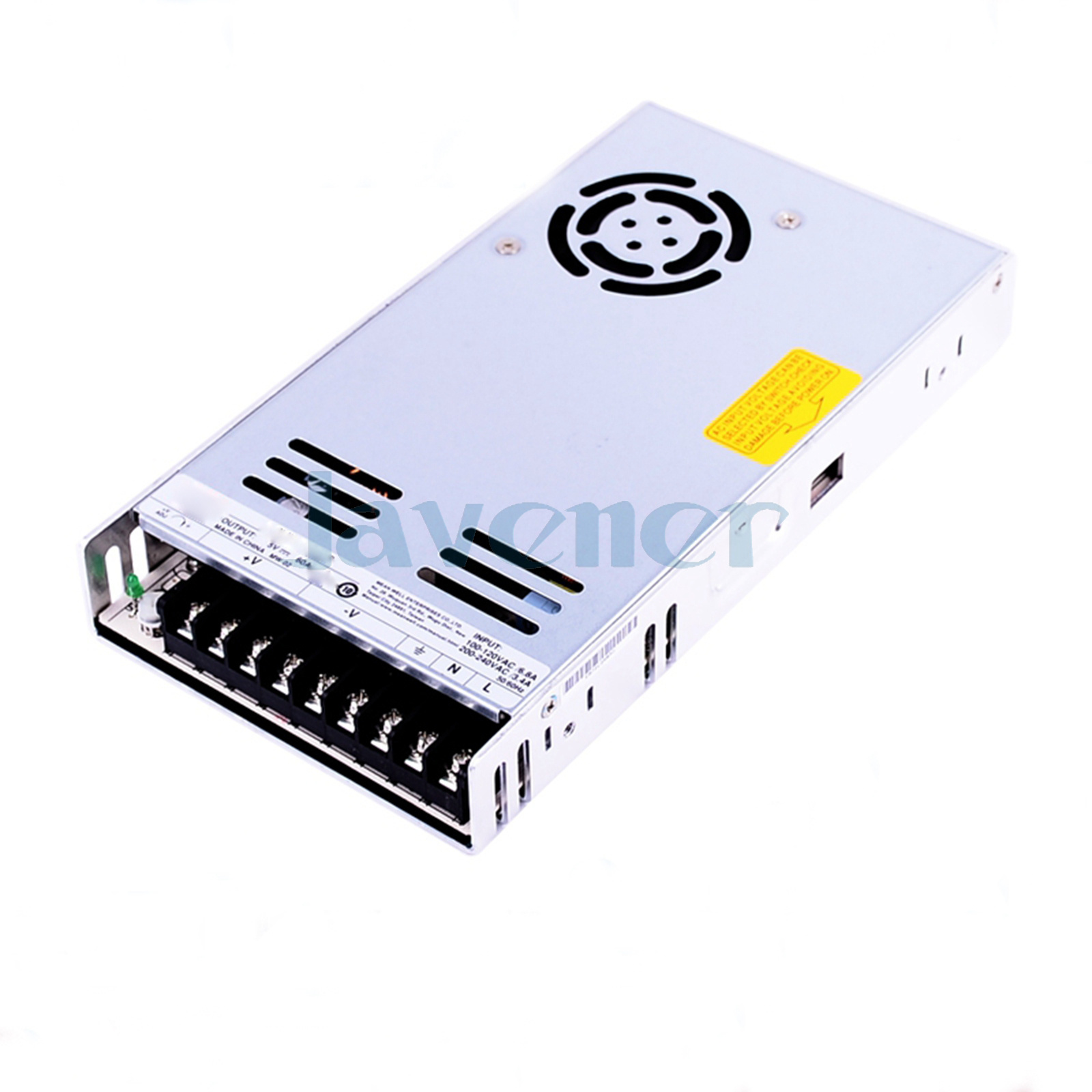 300W 6.5A 48VDC Output 110//220VAC Input LED Switching Power Supply Regulated